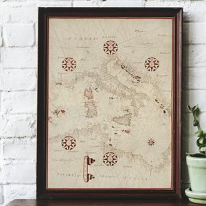 A Vintage Map of Europe